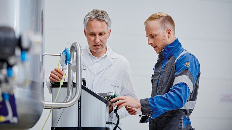 The services business is becoming increasingly important for Endress+Hauser.