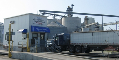 Louis Dreyfus Commodities biodiesel plant in Claypool, Indiana USA